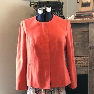 Orange Coldwater Creek Jacket,